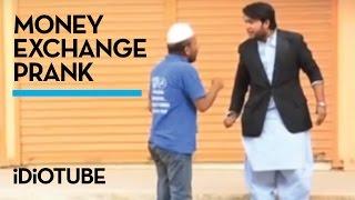 Money Exchange Prank - Nadir Ali  iDiOTUBE