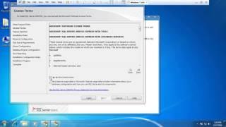 How to Setup SQL Server 2008 r2 on vmware