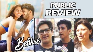 BEFIKRE - FIRST DAY FIRST SHOW - Public Review - Ranveer Singh, Vaani Kapoor