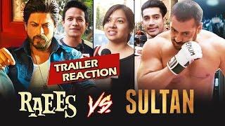 Shahrukh Khan's RAEES TRAILER Public Reaction, Shahrukh's Raees BEATS Salman's Sultan