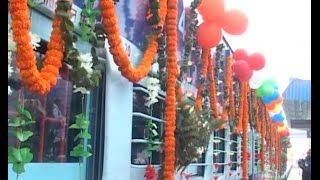 गीता जयंती एक्सप्रेस को रेल मंत्री ने दी हरी झंडी
