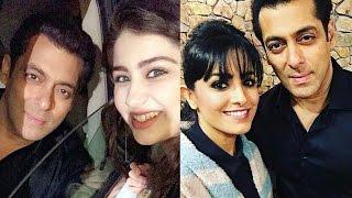 Aditi Bhatia & Anita Hassanandani MEETS Salman Khan On Bigg Boss 10 Sets