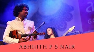 ABHIJITH P S NAIR VIOLINIST FUSION PERFORMANCE SHOWREEL OFFICAL