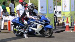 Ninja H2, ZX10R, S1000RR, Busa. Exhaust Sound Compilation. INDIA. Vroom 2016 Drag Race.