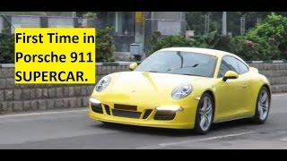 Teaser Video. First Time in Porsche 911 SUPERCAR. India.