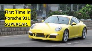 Teaser Video. First Time in Porsche 911 SUPERCAR. India.