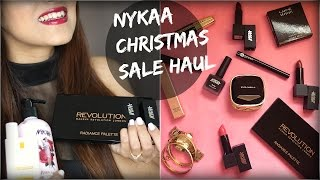 HUGE Nykaa Christmas Sale Haul- Skincare and Makeup Knot Me Pretty