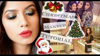 Christmas Makeup Tutorial GRWM