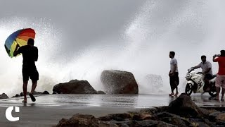 10 people killed and nearly 20,000 evacuated post Cyclone Vardah