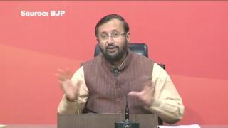 When Rahul speaks, he exposes own party: Javadekar