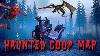Dragon Spiderman Horse  In CS:GO - CS:GO HAUNTED COOP MAP (Best Map)