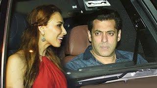Salman Khan-Iulia Vantur PARTIES Together At Sohail Khan's Sons Birthday