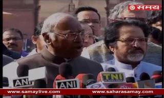Mallikarjun Kharge on all opposition parties Leaders met President