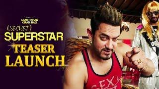 UNCUT - Secret Superstar TEASER LAUNCH - Aamir Khan - Zaira Wasim