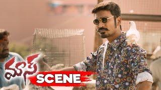 Dhanush As Maari Stunning Introduction Scene - Maari Movie Scenes