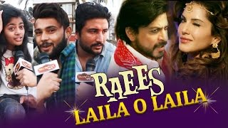 Public SUPER EXCITED For Sunny Leone's LAILA O LAILA Song | Raees