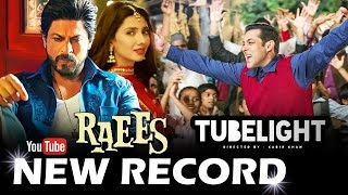 Shahrukh's RAEES Sets NEW RECORD, Salman's TUBELIGHT ROLE Revealed