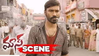 Dhanush Stunning Action Scene - Attacks Goons For Blaming Kalloori Vinoth - Maari Movie Scenes