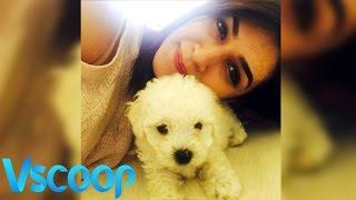 Kriti Sanon's Puppy Love #Vscoop