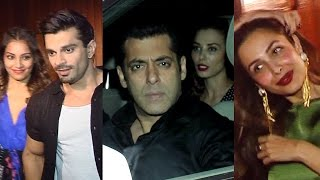 Salman Khan, Malaika Arora, Bipasha Basu At Chunky Pandey's Party