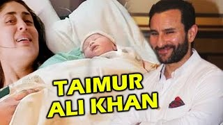 Kareena Kapoor & Saif Ali Khan's BABY BOY Named TAIMUR ALI KHAN