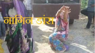 जब इस महिला ने किया नगिन डान्स देखे विडियो.