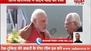 pm modi visit varanasi today