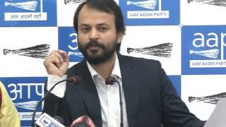 Aap Leader Ashish Khetan Revels Fresh Facts About Birla - Sahara Scam involving Leaders of BJP/Cong