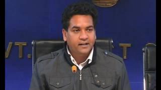 Water Minister Kapil Mishra announces DJBs Walk the Line Initative