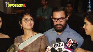 Aamir Khan Hosts Special Screening of Dangal for his Friends | SpotboyE