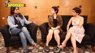 EXCLUSIVE Interview of Fatima Sana Shaikh & Sanya Malhotra for Dangal | SpotboyE