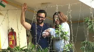 Chote Nawab 'Taimur Ali Khan Pataudi' returns home with Saif-Kareena