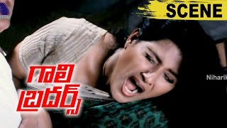 Babu Antony And Jagadish Saves Vani From Goons - Action Scene - Gaali Brothers Movie Scenes