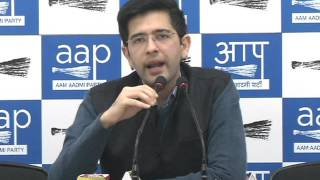 Aam Aadmi Party challenges  BJP & Congress for public debate at Jantar Mantar on Political funding