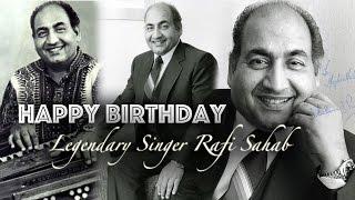 Mohammad Rafi's Birthday Hui Shaam Unka Kya Hua Tera Wada LIVE