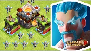 CLASH OF CLANS NEW ICE WIZARD ATTACK PRIVATE SERVER CHRISTMAS GIFT.