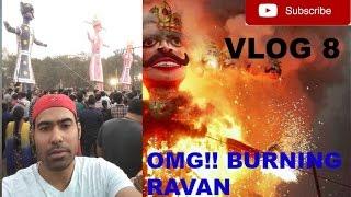 DUSSEHRA festival [burning ravan] DELHI vlog-8 ... gaurav sharma