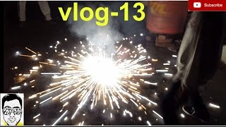 OMG!! BURNING FARUKH NAGAR CRACKERS diwali with gauravzone [vlog--13]