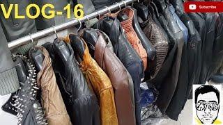 LEATHER JACKET MARKET/LIVE-FACTORY(exploring-bikers,coats,boots,purses)DELHI gaurav sharma\vlog16