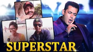 Salman Khan THE BIGGEST SUPERSTAR - PUBLIC OPINION - 51st Birthday Special