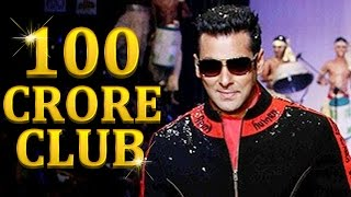 Salman Khan - KING OF 100 CRORE CLUB - 51st Birthday Special
