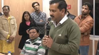 Delhi CM Arvind Kejriwal Addresses People of Safai Karamchari Ayog