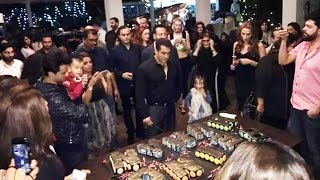 Salman Khan's 51st GRAND Birthday Celebration With Family & Friends At Panvel Farmhouse