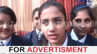 moga kids winter carnival school ke students ka kaarykram