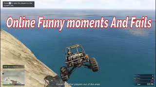 GTA V  Latest - RANDOM AND FUNNY MOMMENTS - GTA V Fails and First Time Driving Sumo And Races