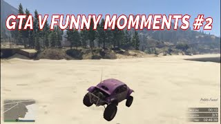 GTA V  Latest - RANDOM AND FUNNY MOMMENTS 2 - GTA V Fails and First Time Driving Sumo And Races