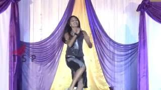 College dance performance - Beautiful girl dance on Stage - Telugu Girl Dance