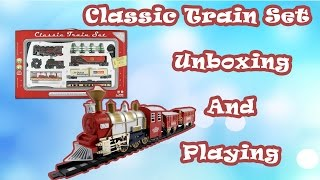 New Funny Classic Express Train Play Set KidsToysWorld || Kids Toy World