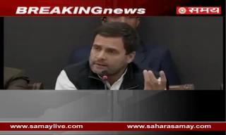 Rahul Gandhi hit out on PM Modi over Demonetization