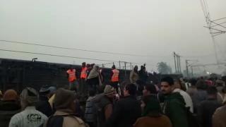 Train derails near Kanpur, over 40 injured